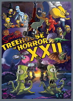 Simpson Horror Show XXII