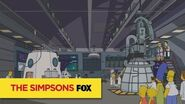 "THE SIMPSONS The Next Big Leap from ""The Marge-ian Chronicles"" ANIMATION on FOX"