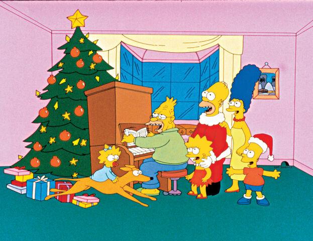 ファイル:Simpsons Roasting on an Open Fire promo.jpg