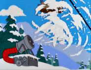 LittleBigMom-HomerBlastedBySnowMachine
