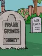 Frank Grimes grave 28