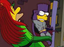 Lenny venenoso soco bartman