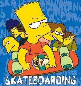 Poster Bart Skate 04