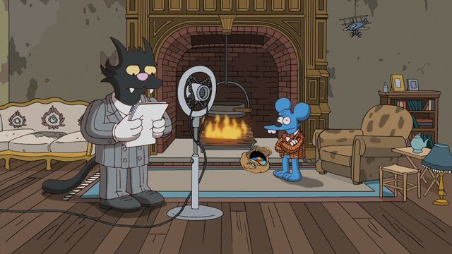 File:Scratchy giving a radio broadcast.jpg