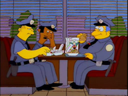 Cops in Krusty Burger