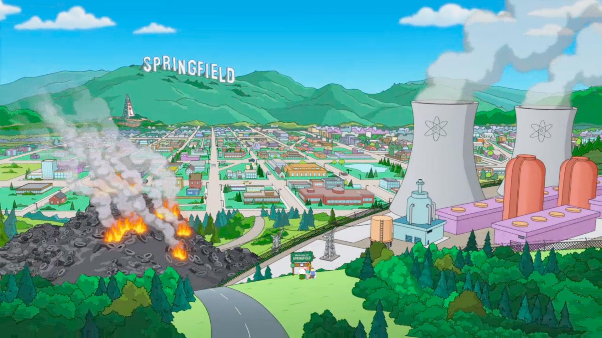 Springfield   Simpsons Wiki   FANDOM powered by Wikia on