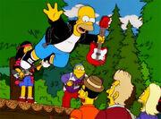 Homer stage diving rock
