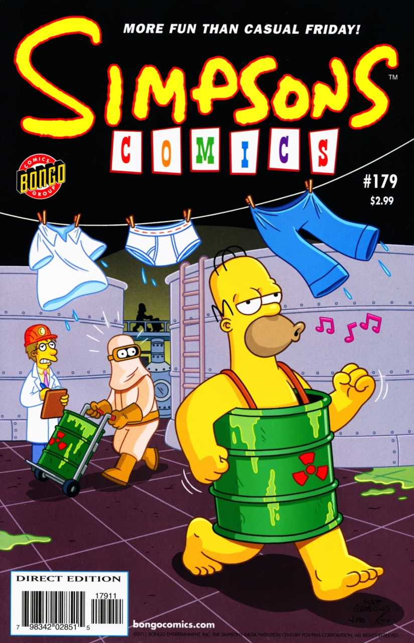Simpsons Comic