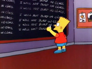 Chalkboard gag (There's No Disgrace Like Home)