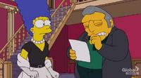 Gruby Tony i Marge w domu publicznym