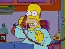 Homer telefone capitão crunch
