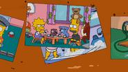 Lisa force tea-partying Bart