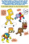 Bart Simpsons treehouse of horrors bart paper doll