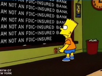 I am not an FDIC-insured bank