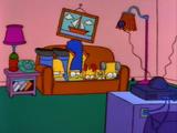 Legs Behind Head couch gag