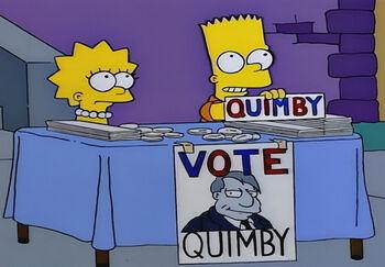 Głosuj na Quimby'ego
