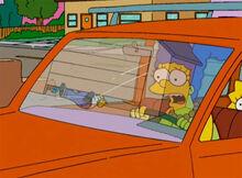 Marge garagem homer