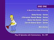Season 4 - Disk 1 Title Menu