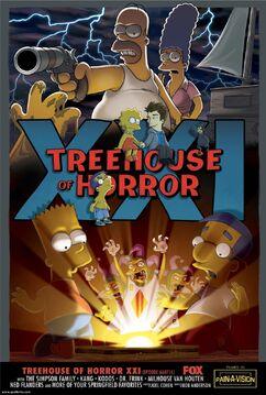 Simpson Horror Show XXI