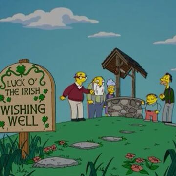 Luck o' the Irish Wishing Well | Simpsons Wiki | Fandom