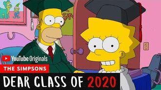 The Simpsons Dear Class Of 2020-0