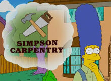 Marge simpson carpintaria