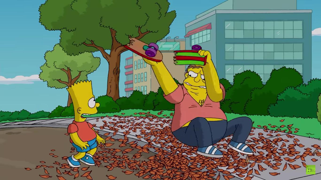 Bart Simpson Skateboard Wallpaper 63752