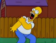 E-I-E-I-(AnnoyedGrunt) HomerGetsShotDuringDuel