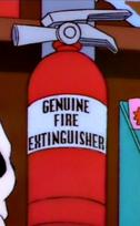 Genuine Fire Extinguisher