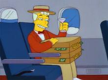 Lyle lanley malas dinheiro avião