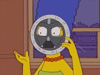 Marge as Darth Vader