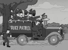 Comandante joe patrulha policial