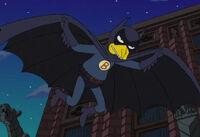 Fruit Bat Man w locie