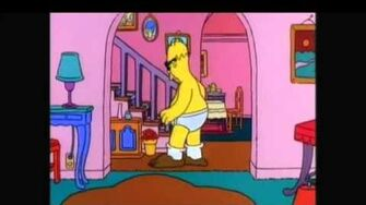 Homer simpson who wears short shorts