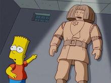Bart encontra golem