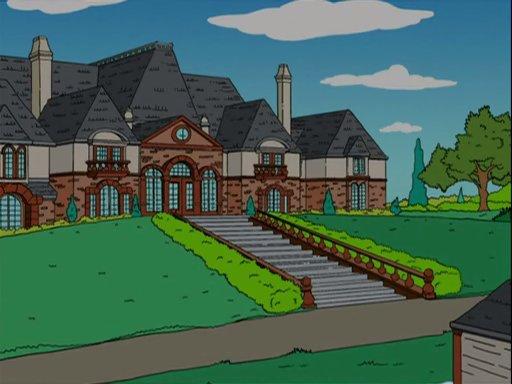 Mr Burns Summer Mansion