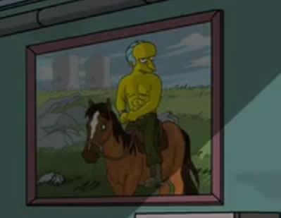 Putin Andando à Cavalo