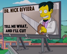 Dr. Nick S28 billboard gag
