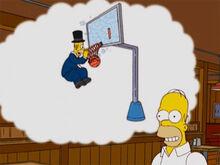 Homer sonha basquete