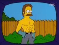 Umięśniony Ned Flanders