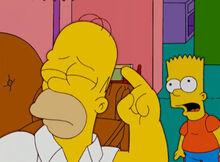 Homer palavrão cabeça bart