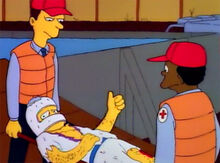 Lance Murdock ferido paramedicos
