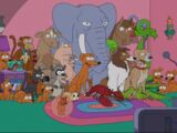 Simpson Family Pets couch gag