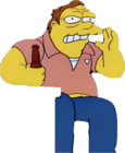 Barney Gumble (Bart to the Future)