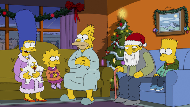 Image - I Won't Be Home For Christmas promo 3.jpg | Simpsons Wiki ...
