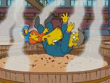 Bart vs skinner amendoim camarão fim