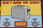 Don't Burn the Toast!
