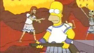 Homer Crosses the River Styx