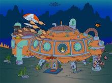 Homer casa subaquatica