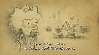 Brand new Snerck perck of The Simpsons end credits 29×1